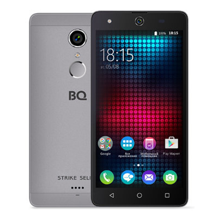 Смартфон BQ Mobile BQS-5050 Strike Selfie Grey