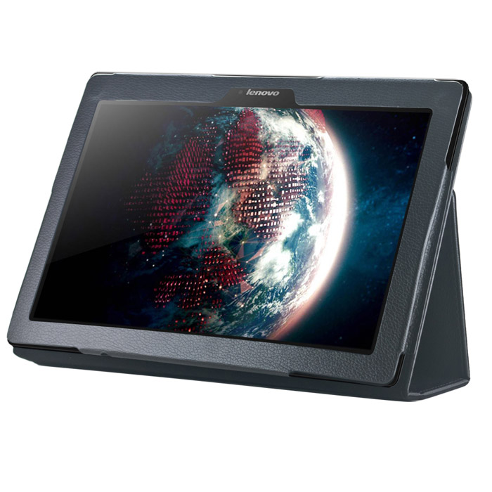 Чехол IT BAGGAGE для Lenovo Tab 3 TB3-X70L, эко кожа, черный