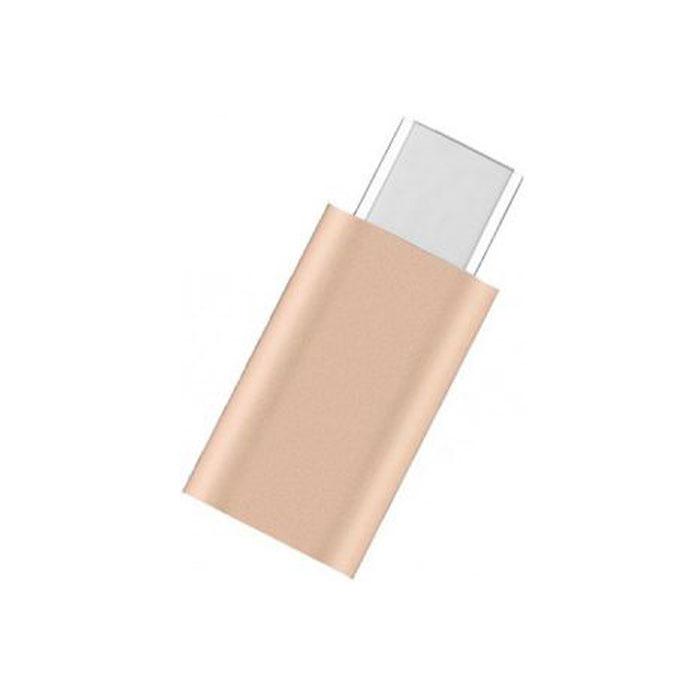 Адаптер USB2.0 microB(5P) - USB тип С(m) Vention ( VAS-S10-G ) Золотой
