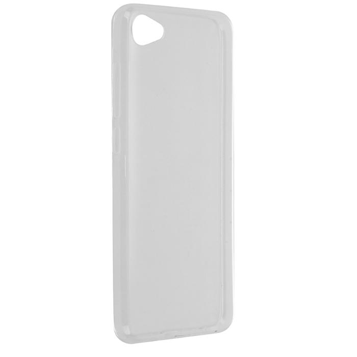 Чехол SkinBox 4People slim silicone для Meizu U10, прозрачный