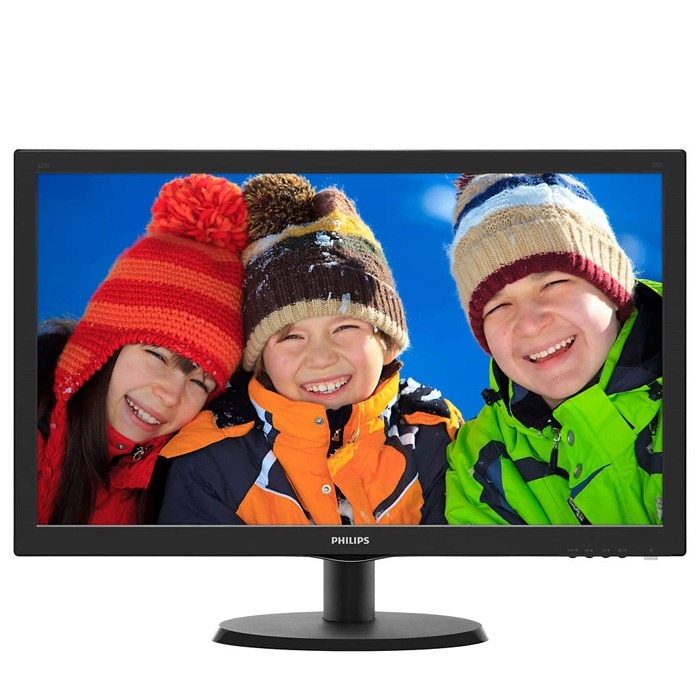 Монитор ЖК Philips 223V5LHSB2 21.5″ TN LED 1920×1080 5ms VGA, HDMI