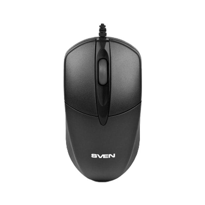 Мышь SVEN RX-112 Black USB оптическая, проводная