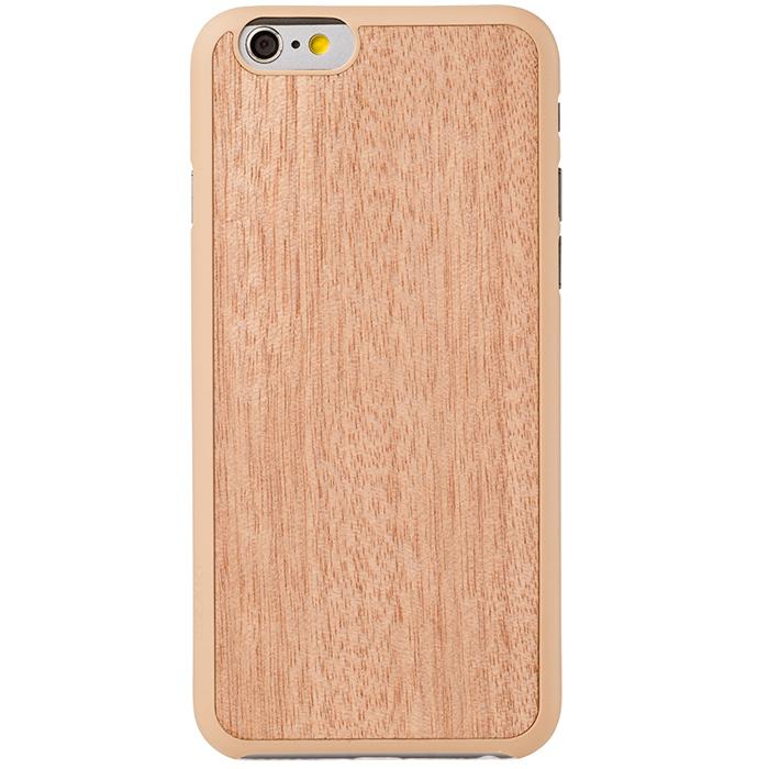 Чехол Ozaki O!coat 0.3 + Wood для iPhone 6 / iPhone 6s, бежевый