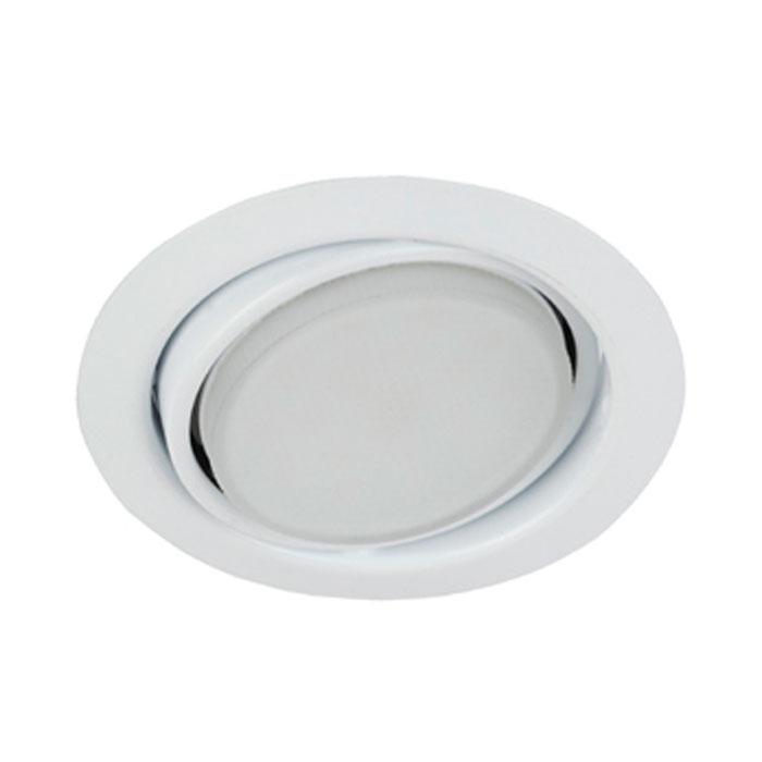 Светильник ЭРА Б0017638 KL35 А WH GX53, 220V, 13W белый, поворотный