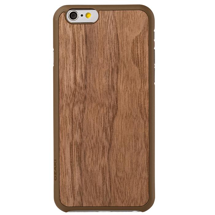 Чехол Ozaki O!coat 0.3 + Wood для iPhone 6 / iPhone 6s, коричневый
