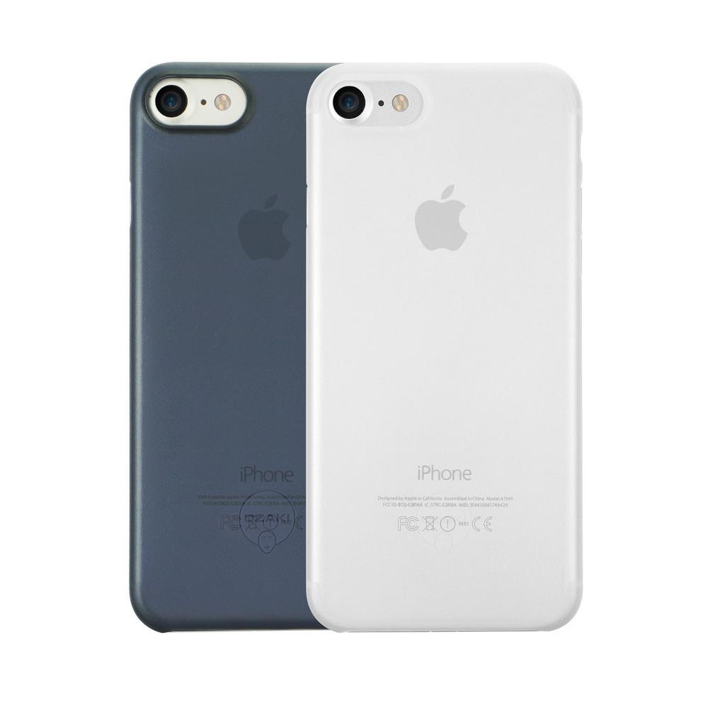 Чехол Ozaki O!coat 0.3 Jelly для iPhone 7, два чехла в наборе, прозрачный и темно-синий