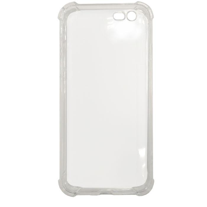 Чехол Gecko силиконовая светящаяся накладка для iPhone 6 / iPhone 6s, белая