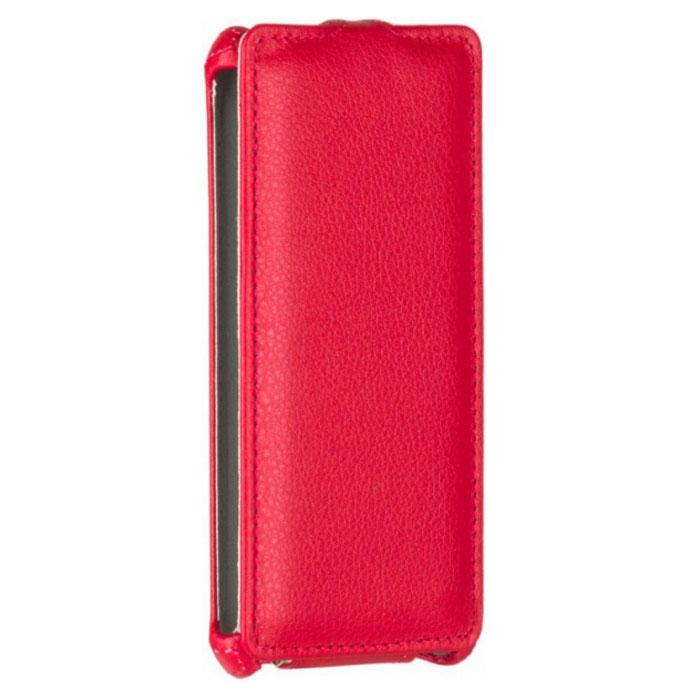 Чехол Gecko Flip case для Xiaomi Redmi 3s/3 Pro, красный