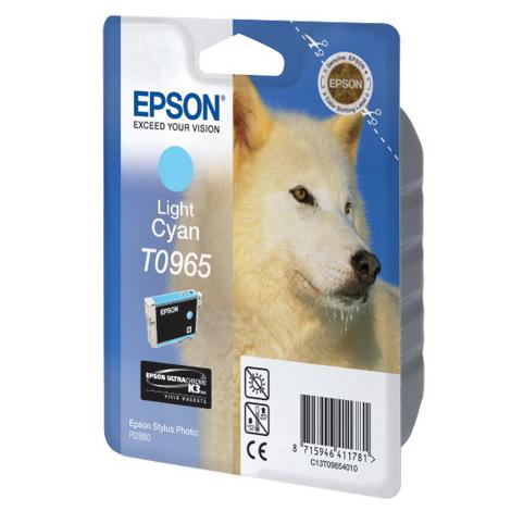 Картридж EPSON C13T09654010 Light Cyan для Stylus Photo R2880