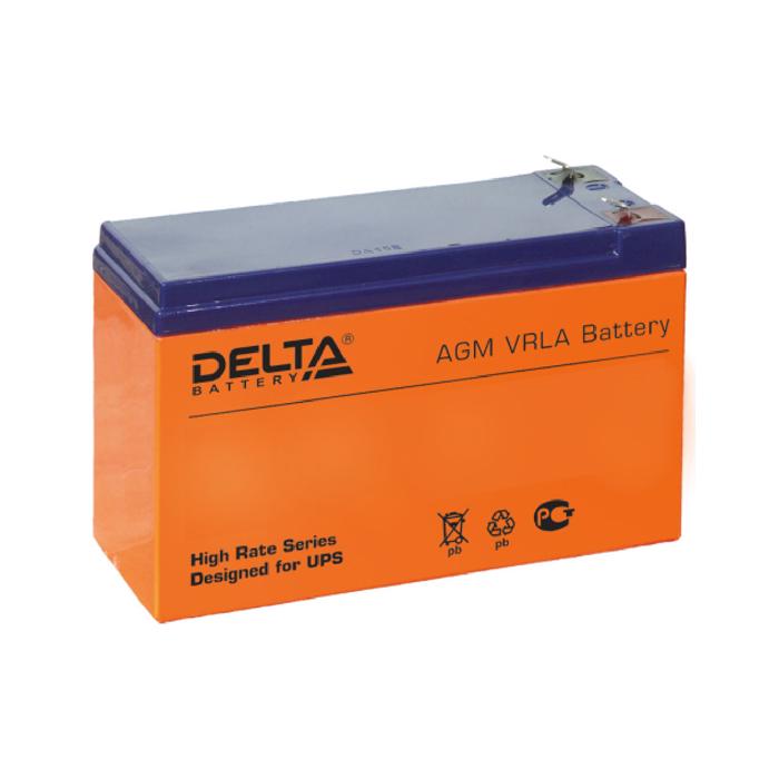 Батарея Delta HR 12-9 (12V 9Ah)