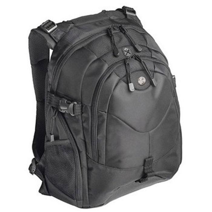 Рюкзак для ноутбука 16″ Targus Campus TEB01, черный, нейлоновый