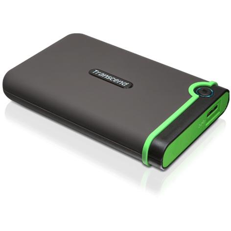 Внешний жесткий диск USB3.0 2.5″ 1.0Тб Transcend StoreJet 25M3 ( TS1TSJ25M3 ) Серый