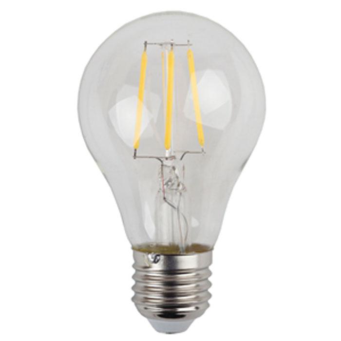 Светодиодная лампа ЭРА F-LED A60 E27 5W 220V желтый свет