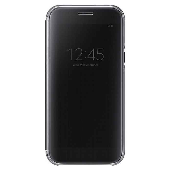 Чехол Samsung Clear View Cover для Galaxy A5 (2017) SM-A520F, черный