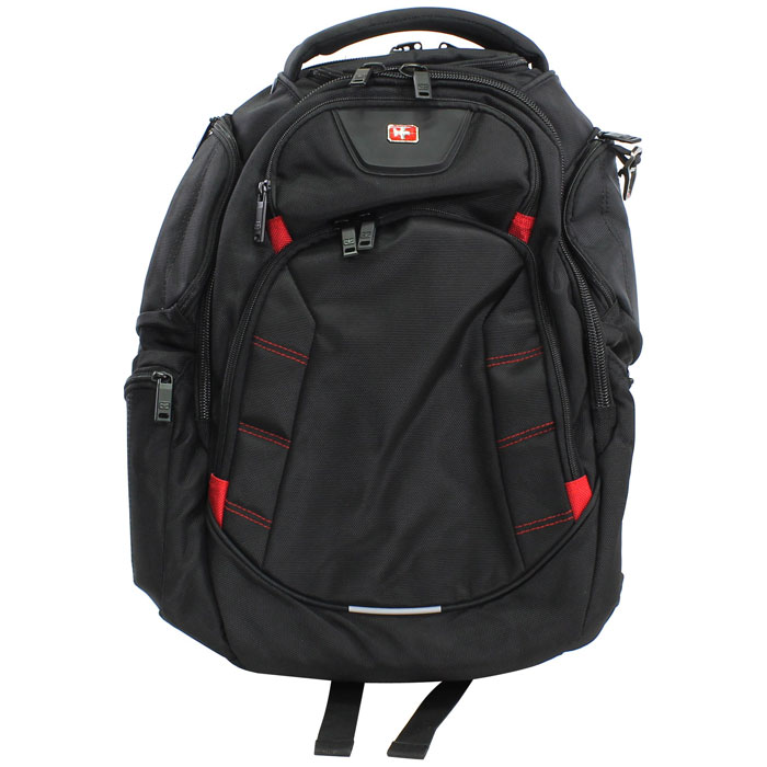 """Рюкзак для ноутбука 16"""" Continent BP-303, черный, нейлоновый"""