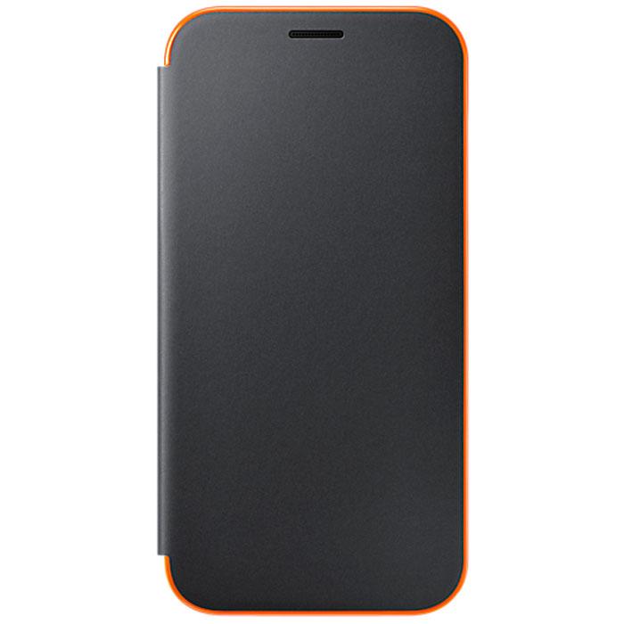 Чехол Neon Flip Cover для Samsung Galaxy A7 (2017) SM-A720F, черный