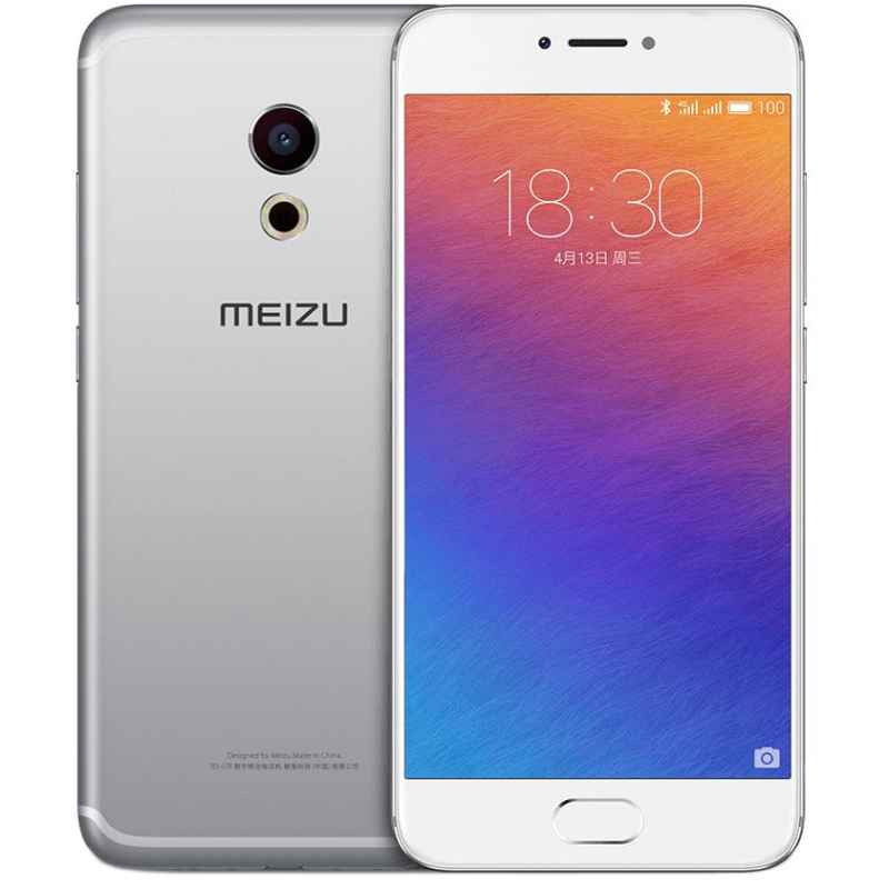 Смартфон Meizu Pro 6 32Gb Silver/White