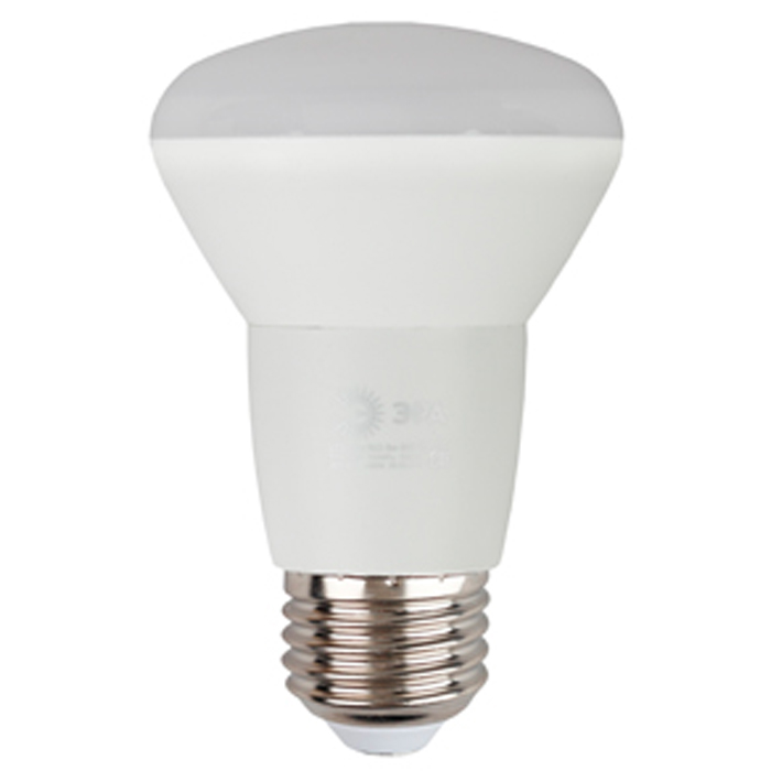 Светодиодная лампа ЭРА R63 E27 8W 220V желтый свет