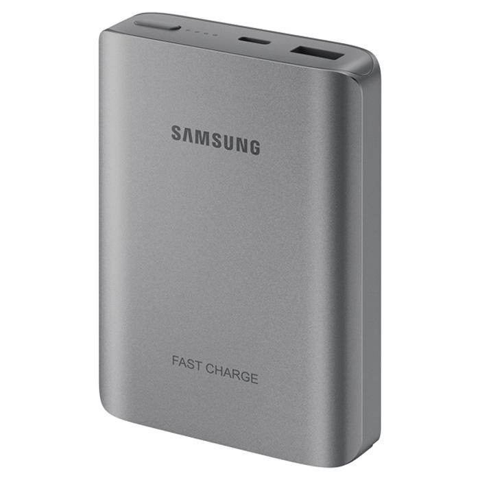 Внешний аккумулятор универсальный Samsung EB-PN930CSRGRU 10200 mAh, Fastcharger, серебристый