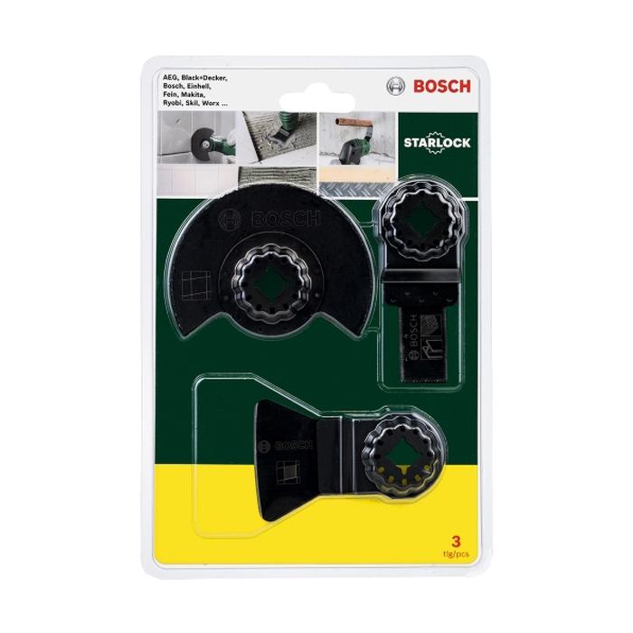 Набор пильных полотен Bosch Starlock 2607017324