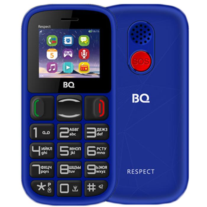 Сотовый телефон BQ Mobile BQ-1800 Respect Blue
