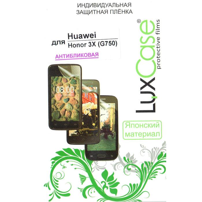 Защитная плёнка для Huawei Honor 3X LuxCase Антибликовая