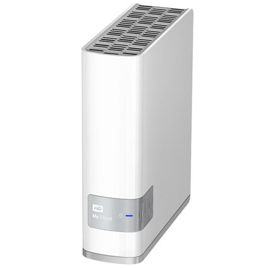 Внешний жесткий диск LAN 3.5″ 3.0Тб WD My Cloud ( WDBCTL0030HWT-EESN )
