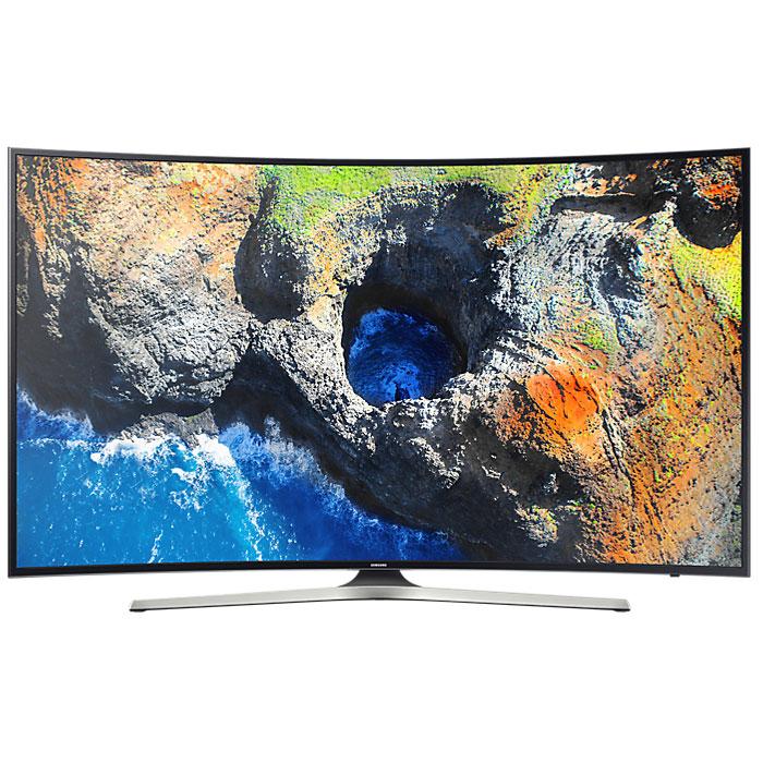 Телевизор ЖК 49″ Samsung UE49MU6300UX черный/серый