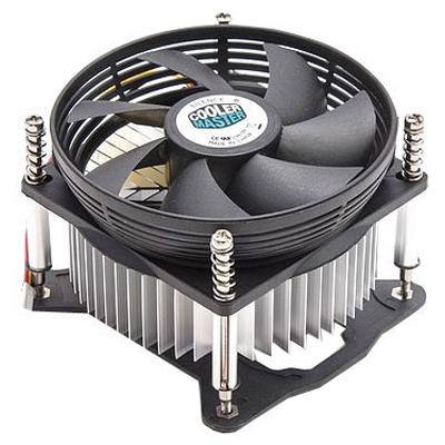 Устройство охлаждения(кулер) Cooler Master 1156/1155/1150 низкопрофильный ( DP6-9GDSB-0L-GP )