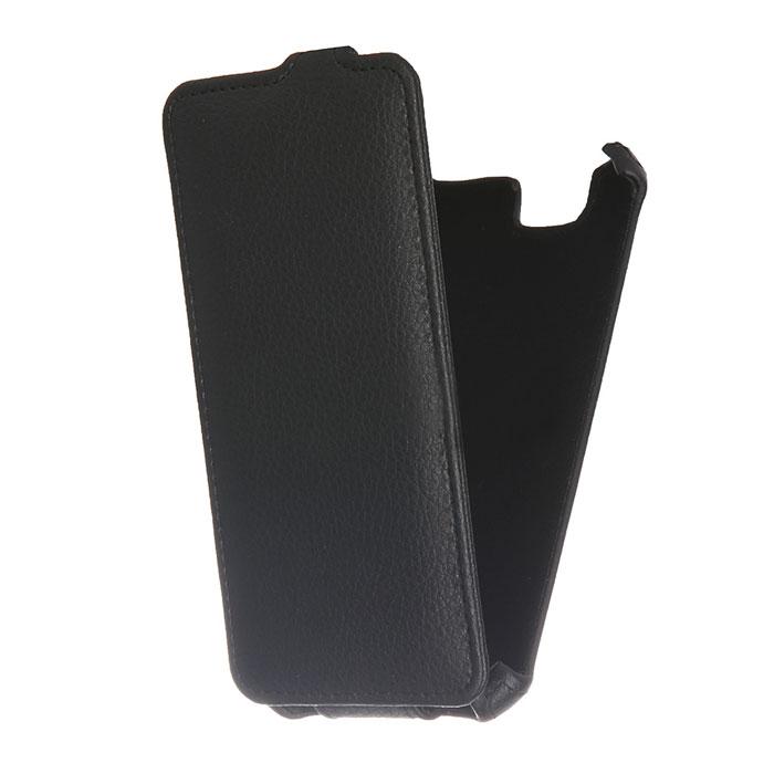 Чехол Gecko Flip для ZTE Blade L4 Pro, черный