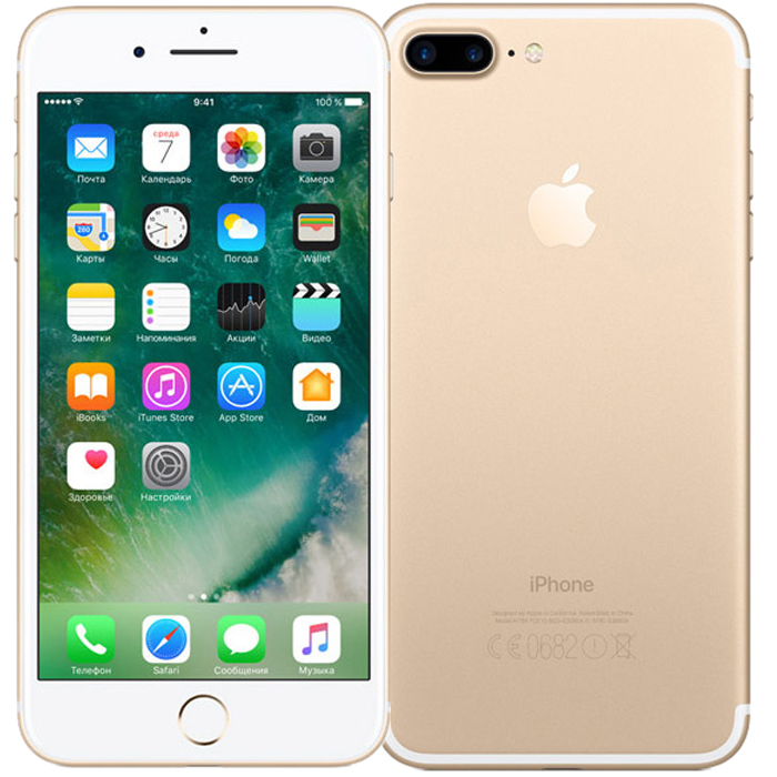 Смартфон Apple iPhone 7 Plus 32GB Gold (MNQP2RU/A)