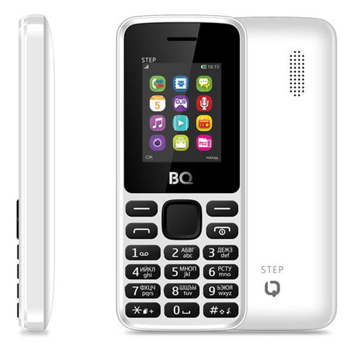 Сотовый телефон BQ Mobile BQM-1831 Step + White