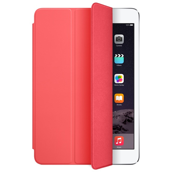 Чехол для Pad Mini/iPad Mini 2/iPad Mini 3 Smart Cover Pink MGNN2ZM/A