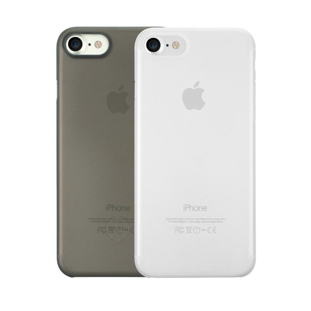 Чехол Ozaki O!coat 0.3 Jelly для iPhone 7, два чехла в наборе, прозрачный и черный