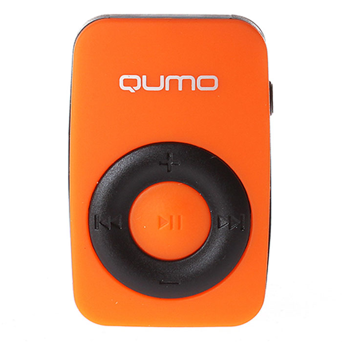 Плеер MP3 flash Qumo Active Orange Spark