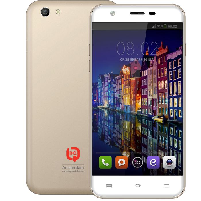 Смартфон BQ Mobile BQS-5505 Amsterdam Gold