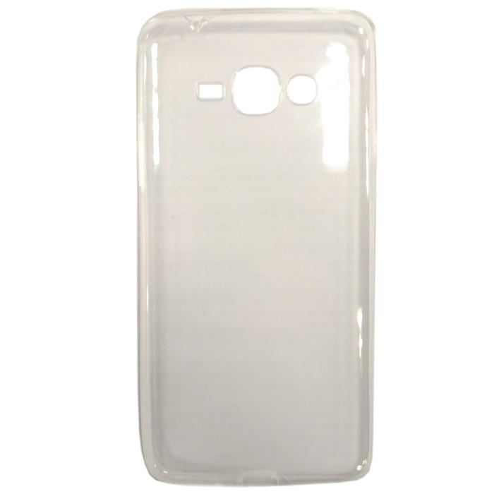 Чехол skinBOX Slim Silicone case для Samsung Galaxy J2 Prime SM-G532, прозрачный