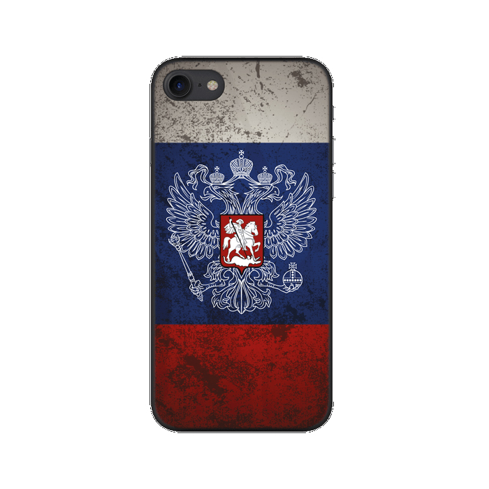 Чехол Deppa Art Case с пленкой для iPhone 7, Патриот, Флаг