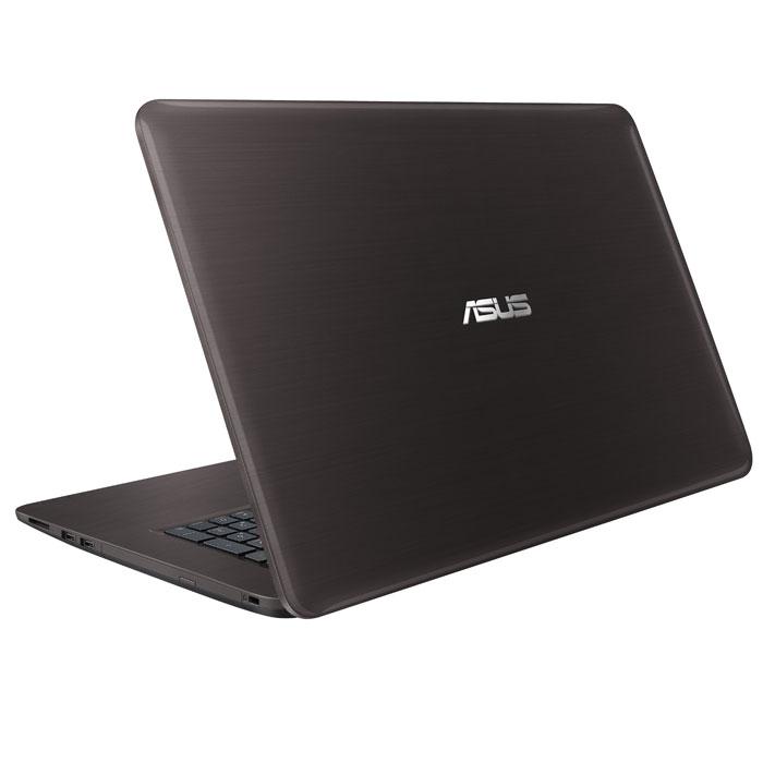 Ноутбук 17.3″ Asus X756UQ Core i5 6200/6Gb/1Tb/NV GT940MX 2Gb/17.3″ HD+/DVD/Win10 черный ( 90NB0C33-M01350  )