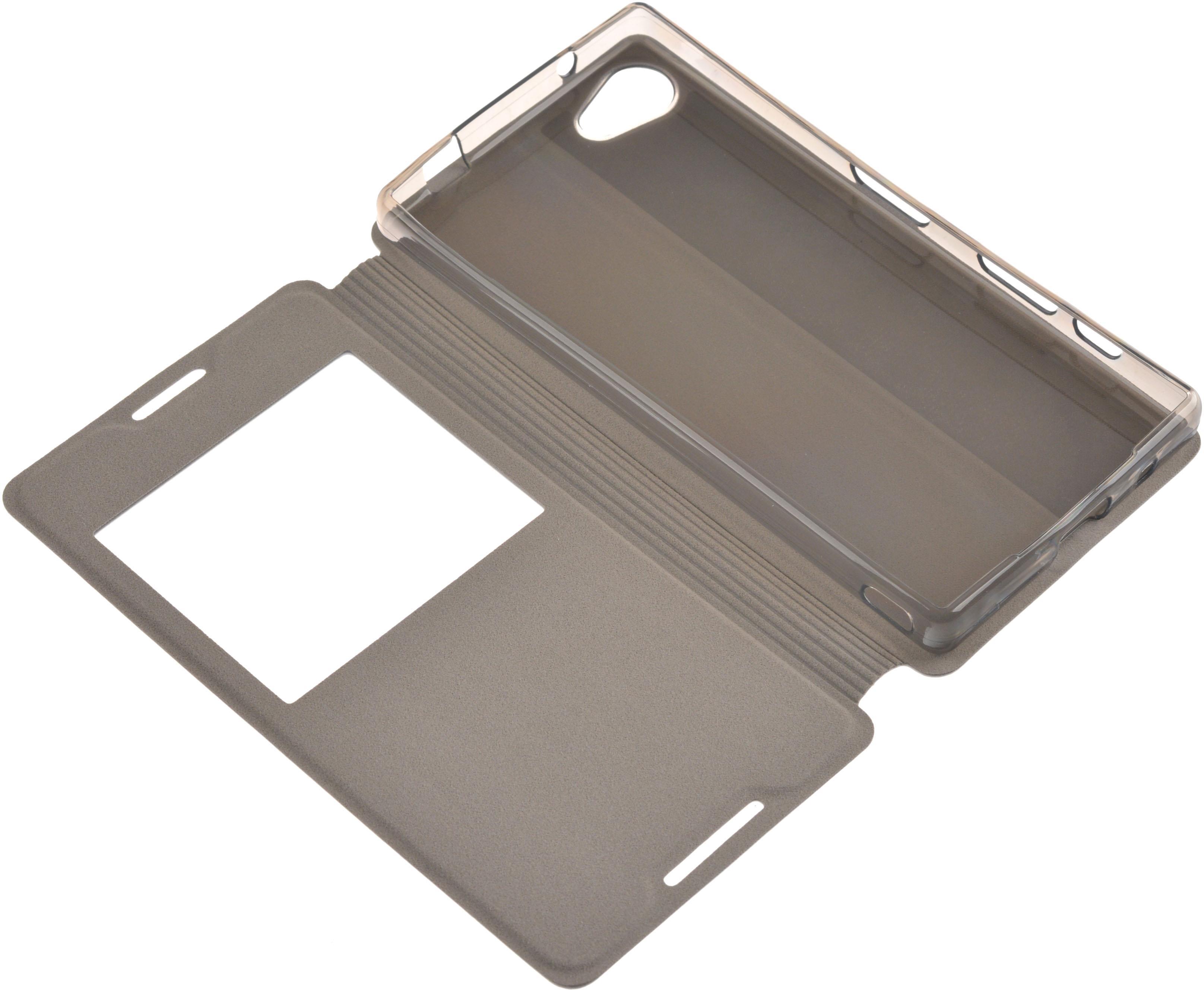 Чехол Sony SkinBOX Lux AW для Sony E5823 Xperia Z5 compact, белый