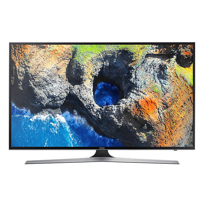Телевизор ЖК 40″ Samsung UE40MU6100UX черный/серый