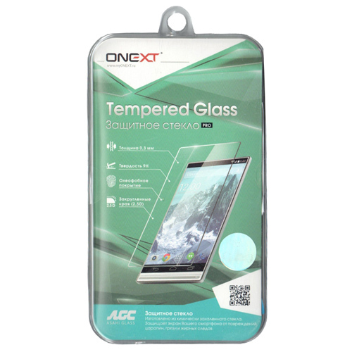 """Защитное стекло для дисплеев 5,5"""" Onext универсальное"""