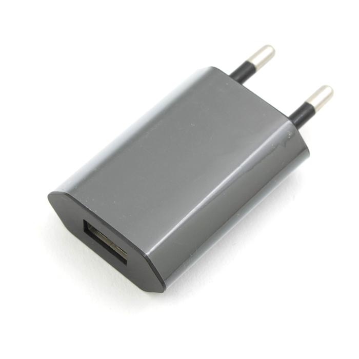 Зарядное устройство сетевое USB KS-is 1A черный KS-195