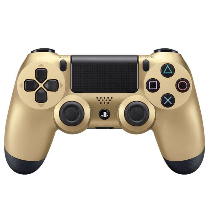 Контроллер беспроводной для PlayStation4 Sony Dualshock 4 Gold