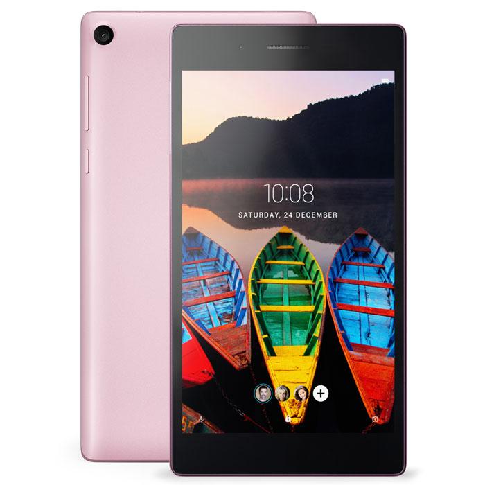 Планшетный компьютер 7″ Lenovo Tab 3 TB3-730X 16Gb LTE розовый
