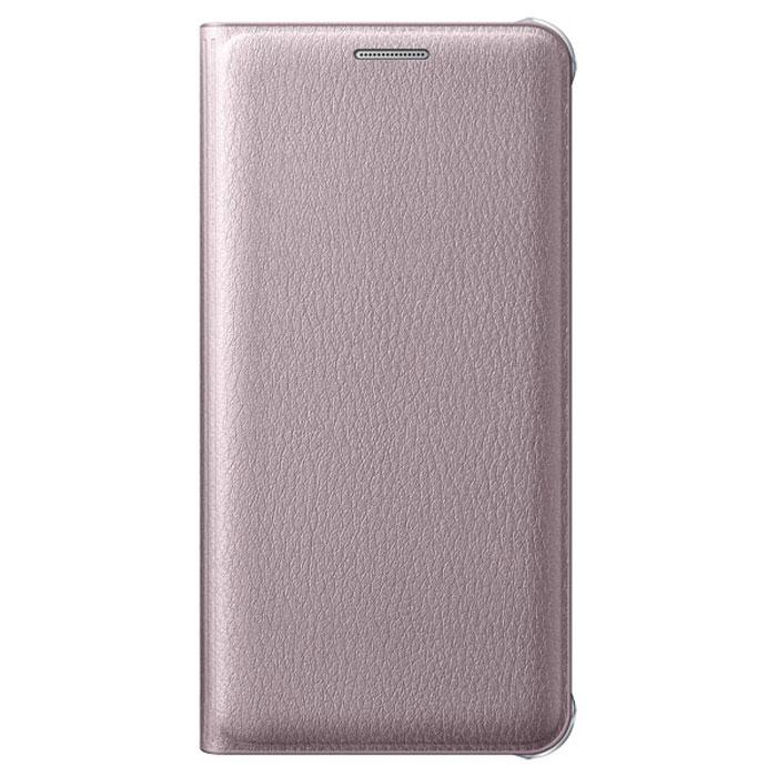 Чехол Samsung Flip Cover для Galaxy A3 (2016) SM-A310F, розовое золото