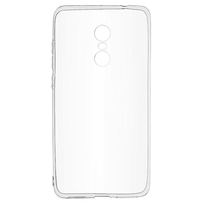 Чехол SkinBox 4People Slim Silicone case для Xiaomi Redmi Note 4, прозрачный