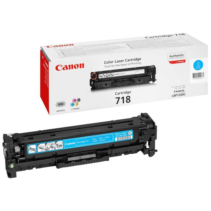 Картридж Canon 718 Cyan