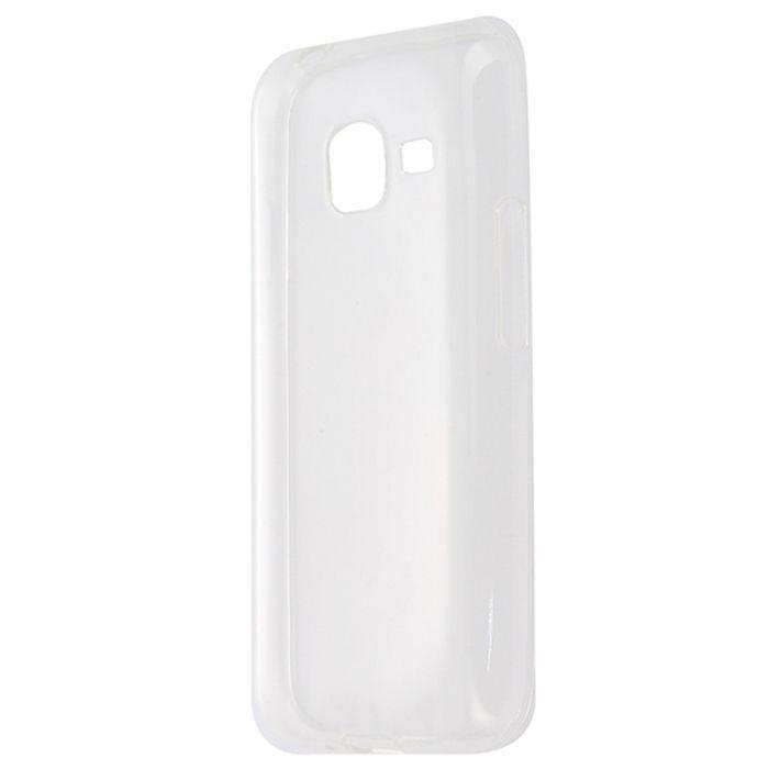 Чехол Gecko Силиконовая накладка для HTC Desire 526G, прозрачно-глянцевая, белая