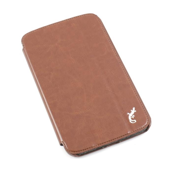 Чехол G-case Slim Premium для Samsung Galaxy Tab3 7.0 коричневый